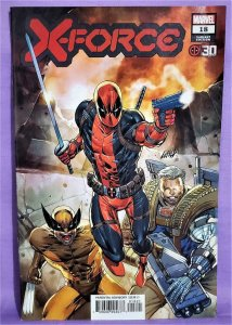 Benjamin Percy X-FORCE #18 Rob Liefeld Deadpool 30th Cover (Marvel, 2021)!