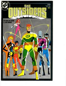10 The Outsiders DC Comic Books # 1 2 3 4 5 6 7 8 9 10 Katana Metamorpho BH10
