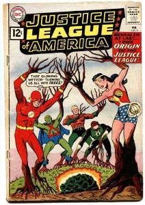 Justice League Of America #9-green lantern & arrow-flash-wonder woman vg
