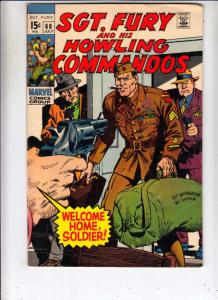 Sgt. Fury and His Howling Commandos #68 (Jul-69) FN/VF Mid-High-Grade Sgt. Fu...