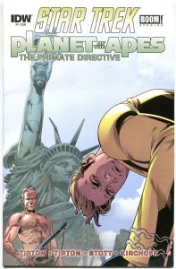 STAR TREK PLANET of the APES #2, VF, Damn Dirty Apes, 2014, IDW, more in store