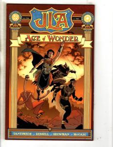Lot Of 8 JLA DC Comic Books Age Of Wonder + 14 15 16 17 18 19 20 Batman CR21