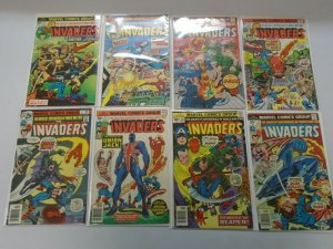 Invaders comic lot 28 different from #2-41 + What If avg 4.0 VG (1975-79)