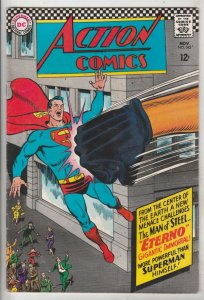 Action Comics #343 (Nov-66) NM- High-Grade Superman, Supergirl