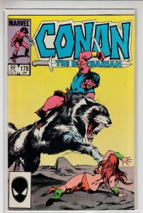 CONAN THE BARBARIAN (1970 MARVEL) #178 VF- A14518