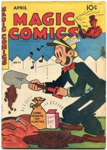 Magic Comics #93 1947- Dagwood- Popeye- Mandrake- Blondie FN-