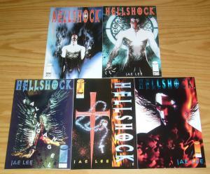 Hellshock #1-4 VF/NM complete series + bill sienkiewicz variant - jae lee set
