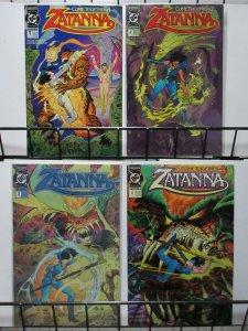 ZATANNA (1993) 1-4  Marrs & Maroto