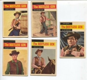 Restless Gun Western TV Series Trading Card Set 1958-John Payne