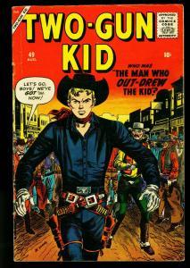 Two-Gun Kid #49 1959- Marvel Western- Maneely- Severin- VG