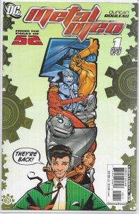 Metal Men (vol. 3, 2007) #1 of 8 FN Rouleau (52 spin-off)