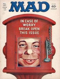 Mad (1952 series) #167, VF- (Stock photo)