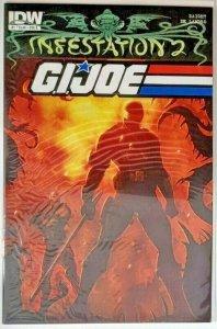 *GI Joe Infestation v2 (2012, IDW) #1-2 All 5 Covers