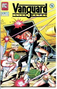Vanguard Illustrated #2 1983-Pacific-spicy Dave Stevens space girls cover-NM