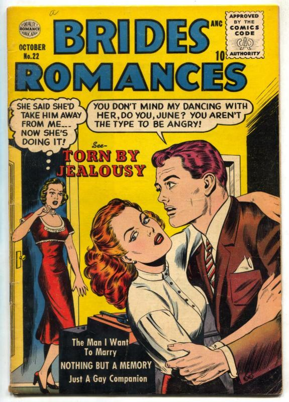 Brides Romances #22 1956- Just a Gay Companion FN