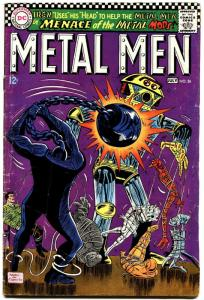METAL MEN #26-DC-ROBOT COVER-1967 VG