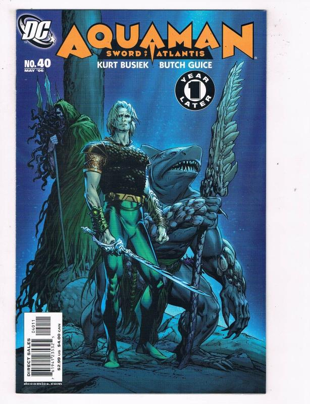 Aquaman #40 VF DC Comics Comic Book Busiek JLA May 2006 DE46