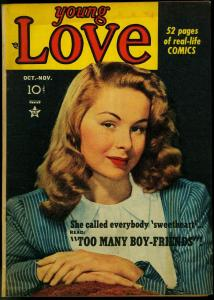 Young Love #5 1949 - Simon & Kirby- Golden Age romance- photo cover VG