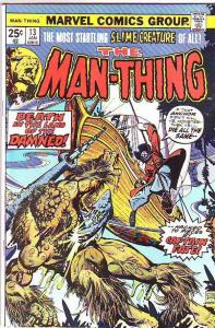 Man-Thing #13 (Feb-75) VF/NM High-Grade Man-Thing