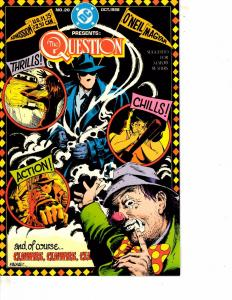 Lot Of 2 Comic Books DC The Question #20 and Sherlock Holmes #1 WT21