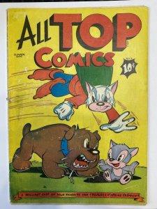 All Top Comics #2 - Golden Age Beauty!