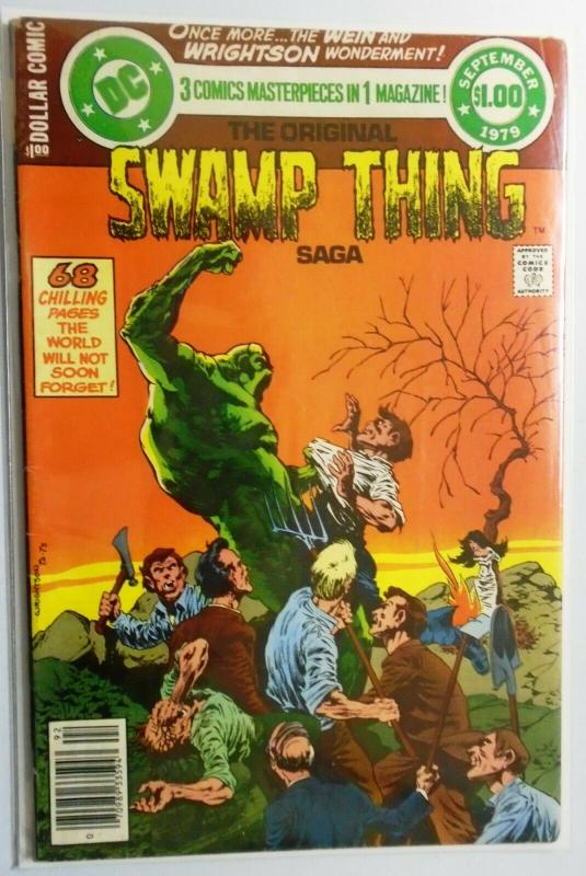 DC Special Series #17 Swamp Thing 4.0 (1979)