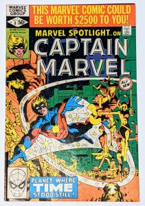 Marvel Spotlight #8 (Sept 1980, Marvel) VF- 7.5 Captain Marvel