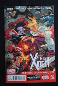 All New X-Men, Trial of Jean Grey, Part 5 NM