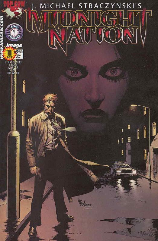 Midnight Nation #1 VF/NM; Image | save on shipping - details inside