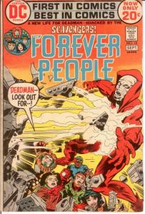 FOREVER PEOPLE 10 VG  Sept. 1972 COMICS BOOK