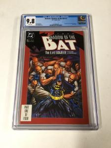 Batman Shadow Of The Bat 1 Cgc 9.8 White Pages 1st Zzazz