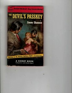 3 Books The Devil's Passkey That Kind of Woman Sweet Smell of Success JK28