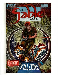 12 Jon Sable Freelance First Comics # 5 6 7 8 9 10 13 14 15 16 17 19 Spy HG4