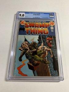 Swamp Thing #2 CGC graded 9.0
