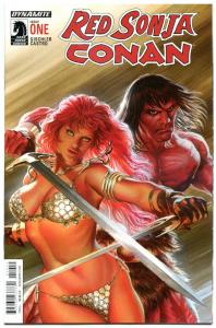 RED SONJA CONAN #1 2 3 4, NM, Robert E Howard, Alex Ross, 2015, more in our stor