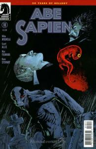 Abe Sapien: Dark and Terrible #10 VF/NM; Dark Horse | save on shipping - details