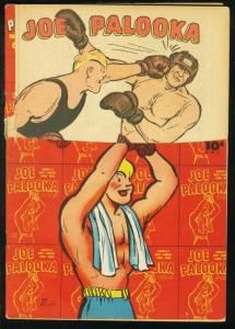 JOE PALOOKA #6 1946-HARVEY COMICS-BOXING-HAM FISHER FR