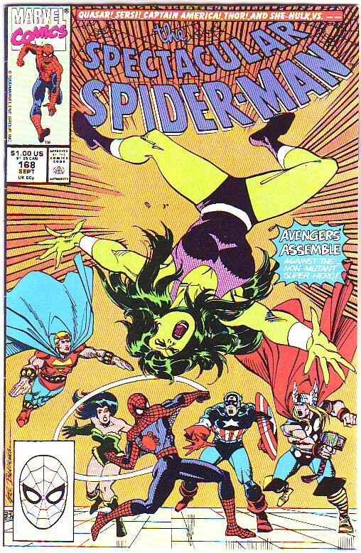 Spider-Man, Peter Parker Spectacular #168 (Nov-90) NM/NM- High-Grade Spider-Man