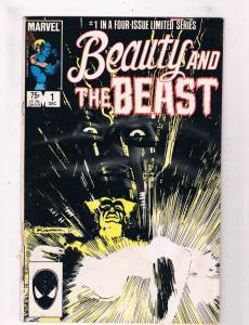 Beauty And The Beast # 1 VG Marvel Comic Books Dr.Doom Dazzler Beast X-Men!! SW9