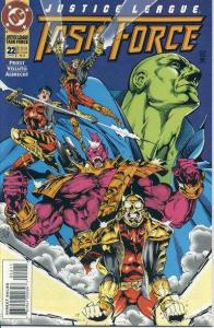 Justice League Task Force #22, NM + (Stock photo)