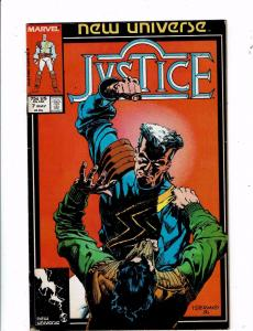Lot of 5 Justice Marvel Comic Books #7 8 9 10 11 BH45