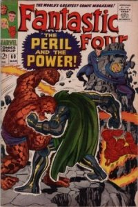 Fantastic Four #60 (ungraded) stock photo / SCM