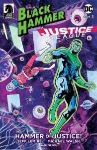 BLACK HAMMER JUSTICE LEAGUE #2 (OF 5) CVR A WALSH