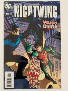 NightWing #110 Villains United Tie-In | DC Comics | NM