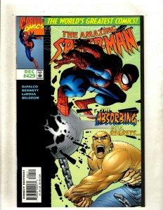 12 Comics Spider-Man 419 429 432 433 434 434 435 -1 2 3 Scarlet Spider 1 2  GK47
