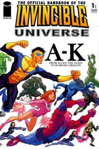 Official Handbook of the Invincible Universe #1, NM + (Stock photo)