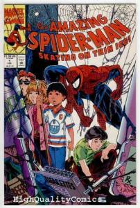 SPIDER-MAN #1, Skating on Thin Ice, Amazing,1993, NM+, more Spidey in store
