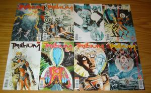 Trillium #1-8 VF/NM complete series - jeff lemire - vertigo comics 2 3 4 5 6 7