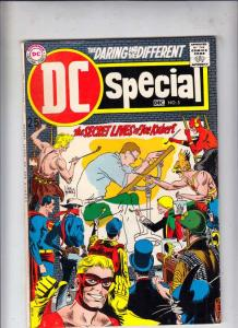 DC Special #5 (Dec-69) VF High-Grade Sgt. Rock, Fire Hair, Hawkman, Hawkgirl,...