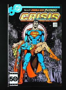 Crisis on Infinite Earths #7, NM- (Actual scan)